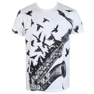 tričko pánské ALISTAR - Sax&Crows - White