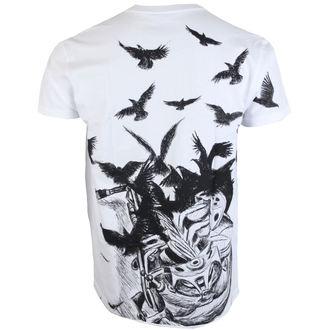 tričko pánské ALISTAR - Sax&Crows - White, ALISTAR