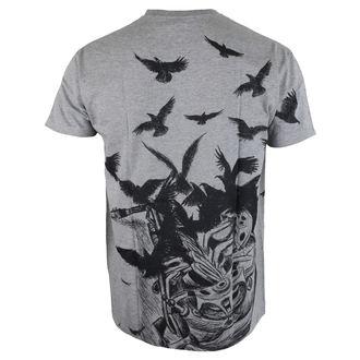 tričko pánské ALISTAR - Sax&Crows - Grey, ALISTAR