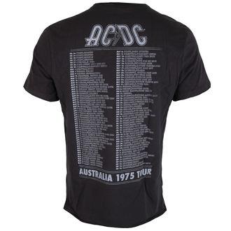 tričko pánské AC/DC - TOUR - Charcoal - AMPLIFIED, AMPLIFIED, AC-DC