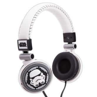 sluchátka Star Wars - Storm Trooper - WHT, NNM