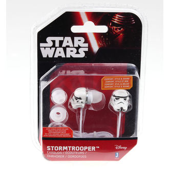 sluchátka Star Wars - Stormtrooper - Wht, NNM, Star Wars