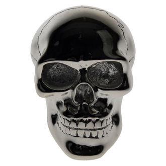 dekorace -hlavice řadící páky- Silver Skull Gear - POŠKOZENÁ, Nemesis now