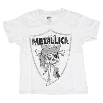 tričko dětské Metallica - Pirate - White, Metallica