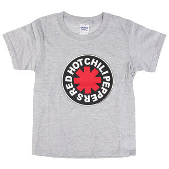 tričko dětské Red Hot Chili Peppers -  Logo in Circle Grey, Red Hot Chili Peppers
