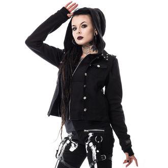 set dámský mikina+vesta VIXXSIN - Twin - Black, VIXXSIN