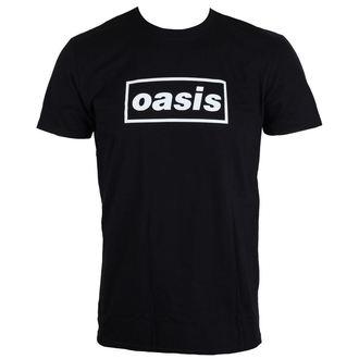 tričko pánské Oasis - Black Logo - LIVE NATION, LIVE NATION, Oasis