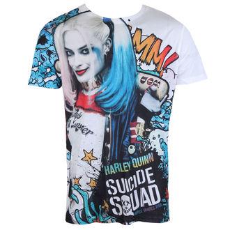 tričko pánské Suicide Squad - Graffiti - White - LIVE NATION