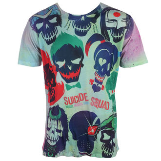 tričko pánské Suicide Squad - Poster - White - LIVE NATION, LIVE NATION, Suicide Squad
