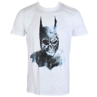 tričko pánské Batman - Gothic Skull - White - LIVE NATION, LIVE NATION