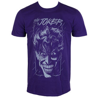 tričko pánské Batman - The Joker - Purple - LIVE NATION - PE11559TSCP