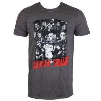 tričko pánské Suicide Squad - HA HA HA - Charcoal - LIVE NATION, LIVE NATION