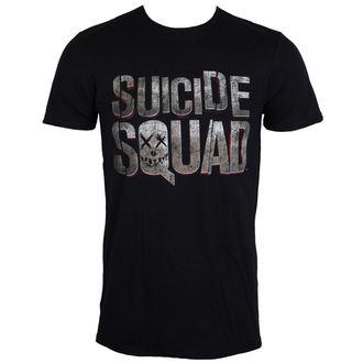 tričko pánské Suicide Squad - Logo - Black - LIVE NATION, LIVE NATION