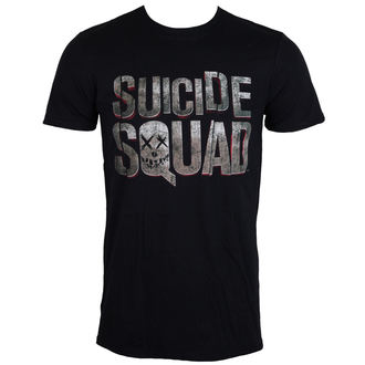 tričko pánské Suicide Squad - Logo - Black - LIVE NATION - PE13067TSBP