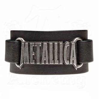 náramek Metallica - ALCHEMY GOTHIC - Logo, ALCHEMY GOTHIC, Metallica