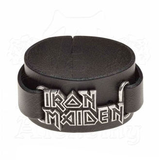 náramek Iron Maiden - ALCHEMY GOTHIC - Logo, ALCHEMY GOTHIC, Iron Maiden
