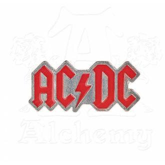 připínáček AC/DC - ALCHEMY GOTHIC - Enamel Logo