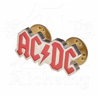 připínáček AC/DC - ALCHEMY GOTHIC - Enamel Logo, ALCHEMY GOTHIC, AC-DC