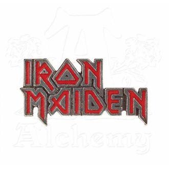 připínáček Iron Maiden - ALCHEMY GOTHIC - Enamel Logo, ALCHEMY GOTHIC, Iron Maiden