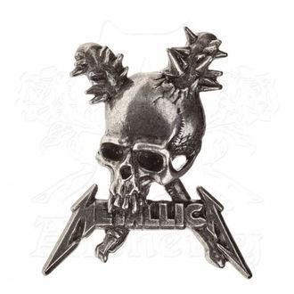 připínáček Metallica - ALCHEMY GOTHIC -  Damage, ALCHEMY GOTHIC, Metallica