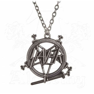 obojek Slayer - ALCHEMY GOTHIC - Pentagram - PP508