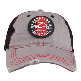 kšiltovka ORANGE COUNTY CHOPPERS - Round Logo - Black/Red/Grey, ORANGE COUNTY CHOPPERS