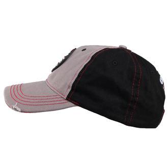 kšiltovka ORANGE COUNTY CHOPPERS - Round Logo - Black/Red/Grey