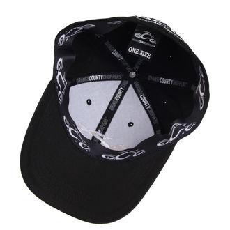 kšiltovka ORANGE COUNTY CHOPPERS - Logo - Black