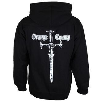 mikina pánská ORANGE COUNTY CHOPPERS - Embr Front - Classic Sword - Black