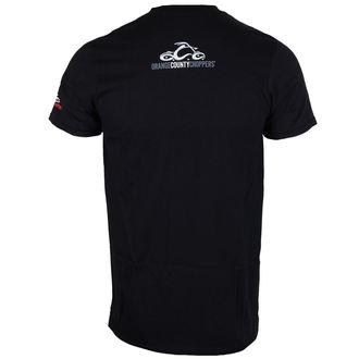 tričko pánské ORANGE COUNTY CHOPPERS - Circle Stamp - Black