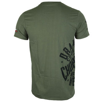 tričko pánské ORANGE COUNTY CHOPPERS - Side Circle - Military Green, ORANGE COUNTY CHOPPERS