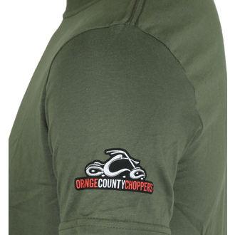 tričko pánské ORANGE COUNTY CHOPPERS - Side Circle - Military Green