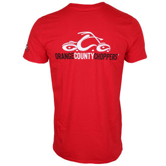 tričko pánské ORANGE COUNTY CHOPPERS - Logo - Red, ORANGE COUNTY CHOPPERS