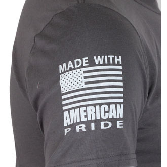 tričko pánské ORANGE COUNTY CHOPPERS - Patriotic - Charcoal, ORANGE COUNTY CHOPPERS