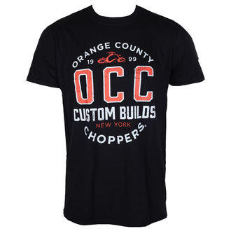 tričko pánské ORANGE COUNTY CHOPPERS - Rebel - Black - OCCTS03502