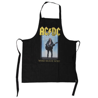 zástěra AC/DC - Who Made Who Apron - LOW FREQUENCY, LOW FREQUENCY, AC-DC