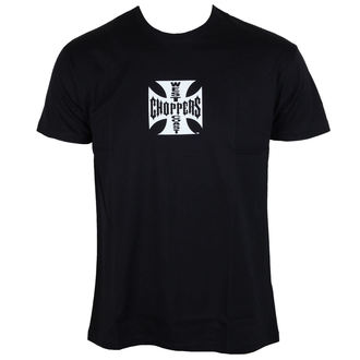 tričko pánské West Coast Choppers - Iron Cross - Black - WCCTS002ZW