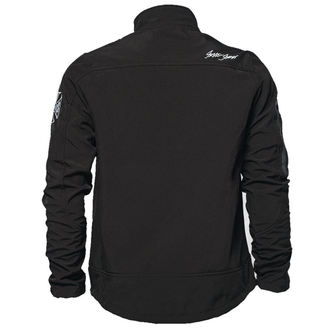 bunda pánská (softshell) West Coast Choppers - OG CROSS - BLACK - WCCJS024ZW