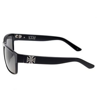 brýle West Coast Choppers -  SHINY BLACK SMOKED