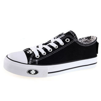 boty West Coast Choppers - WARRIOR LOW-TOP - BLACK, West Coast Choppers