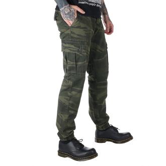 kalhoty pánské SURPLUS - GREEN-CAMO, SURPLUS