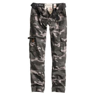 kalhoty dámské SURPLUS - PREMIUM SLIMMY - BLACK CAMO - 33-3588-42