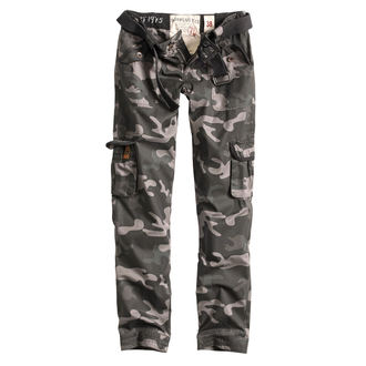 kalhoty dámské SURPLUS - PREMIUM SLIMMY - BLACK CAMO, SURPLUS