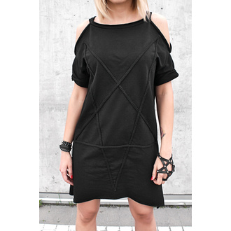 šaty dámské AMENOMEN - Pentagram - Black - DESIRE-016