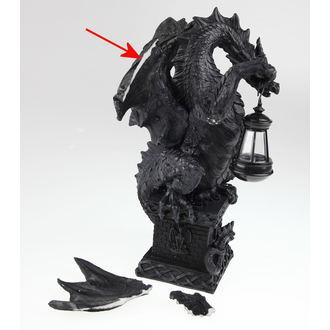 dekorace Black Dragon Light - POŠKOZENÁ