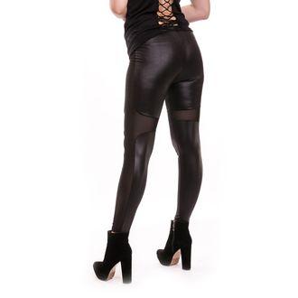 kalhoty dámské (legíny) CUPCAKE CULT - HNET - BLACK - POI226
