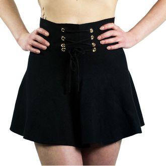 sukně dámská INNOCENT LIFESTYLE - BARNEY - BLACK - POI229