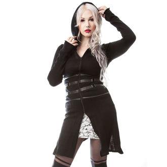 svetr dámský (cardigan) VIXXSIN - SIFER - BLACK, VIXXSIN