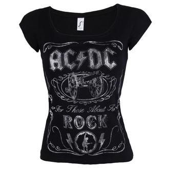 tričko dámské AC/DC - Canon Swig - ROCK OFF, ROCK OFF, AC-DC