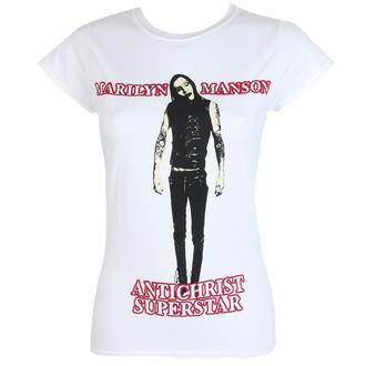 tričko dámské Marilyn Manson - Antichrist - ROCK OFF, ROCK OFF, Marilyn Manson